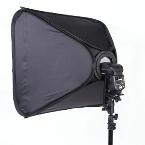 Софтбокс для накамерных вспышек NiceFoto EK-40×40