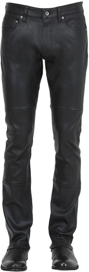 John Varvatos Leather Pants