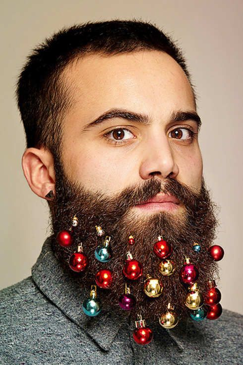 Men Can Decorate Their Beard With Tiny Ornaments -- The Cut