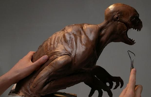 Creepy rejected concept art for Jurassic Park 4