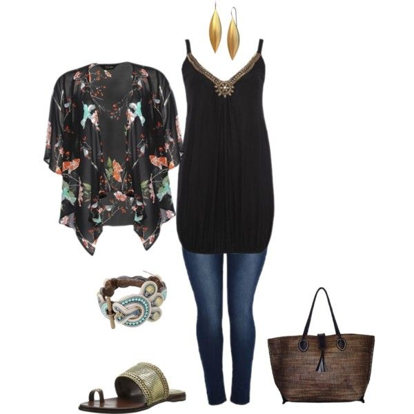Concert fun- plus size created by gchamama on Polyvore | Girls outfits | Pinterest | Created by ...