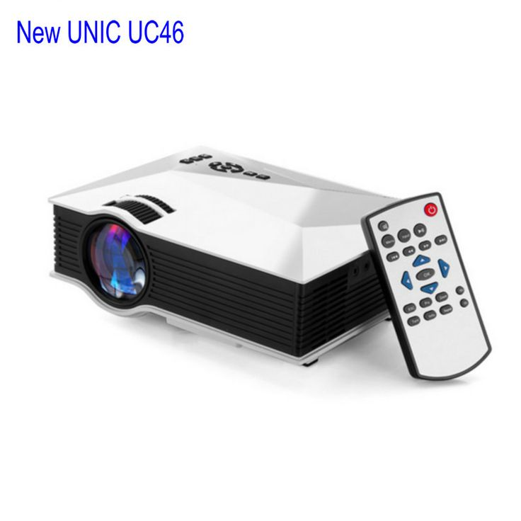 Newest Original UNIC UC46 UC46+ WIFI Portable LED Video Home Cinema Projector PC VGA/USB/HDMI Wireless Mini Pocket Projector //Price: $93.00      #FirstDayOfSummer