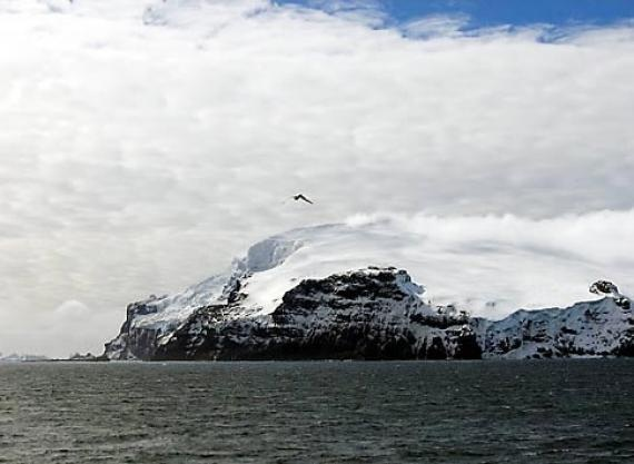 BOUVET ISLAND, the loneliest place on earth