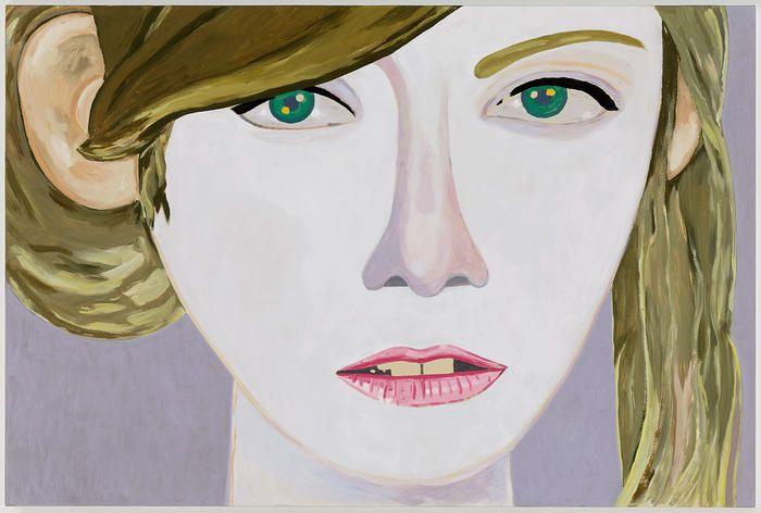 Sweetheart Like You, Brian Calvin,2014, Acrylic and flashe on canvas, 48 x 72