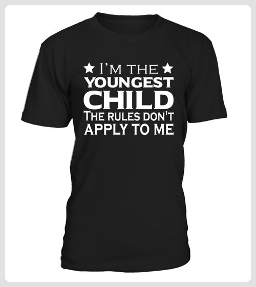 Youngest Child Rules TShirt (*Partner Link)