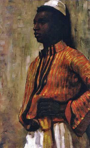 Nourse, Elizabeth (1859-1938) - 1897 Moorish Boy ...