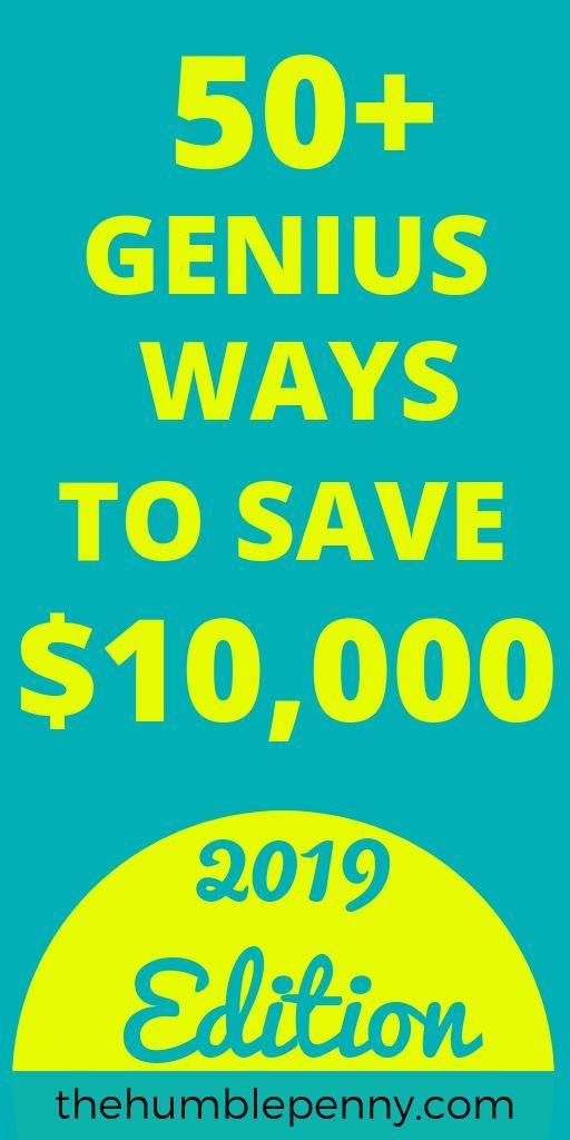 Über 50 geniale Möglichkeiten, um jedes Jahr 10.000 US-Dollar zu sparen! Sparen Sie Geld für Ihre Finanzen, Essen & H …   – Finance Tips