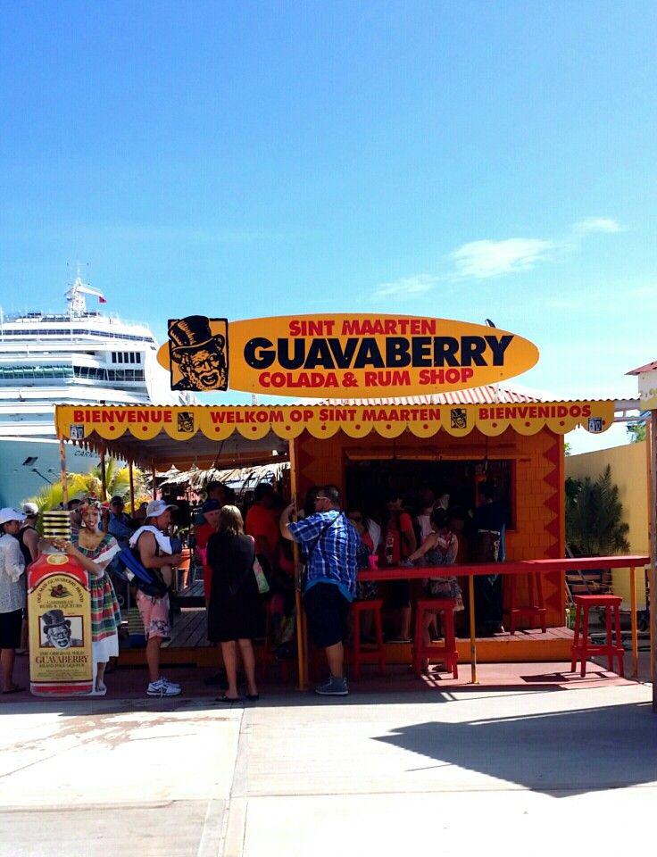 Guavaberry rum shop in St Maarten