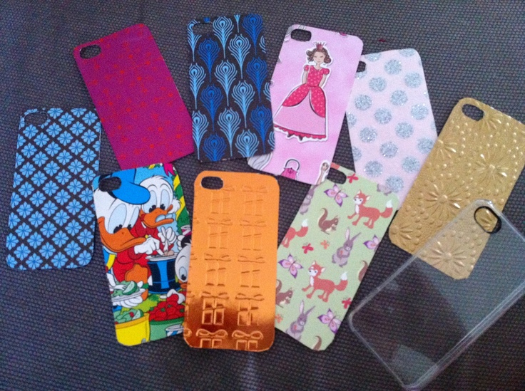 Diy customized iphone shell just love it make a shell a for Crafts for seniors with limited dexterity