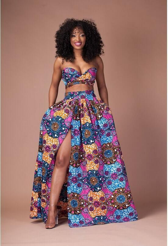 77fbbf2ce0 Great Stylish Africa fashion clothing looks Ideas 2654882439. Koss - African  Print 2 Piece Set