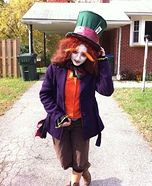 Homemade Mad Hatter Costume