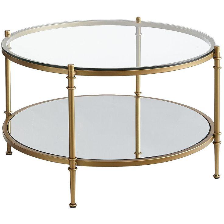 clara coffee table gold 2