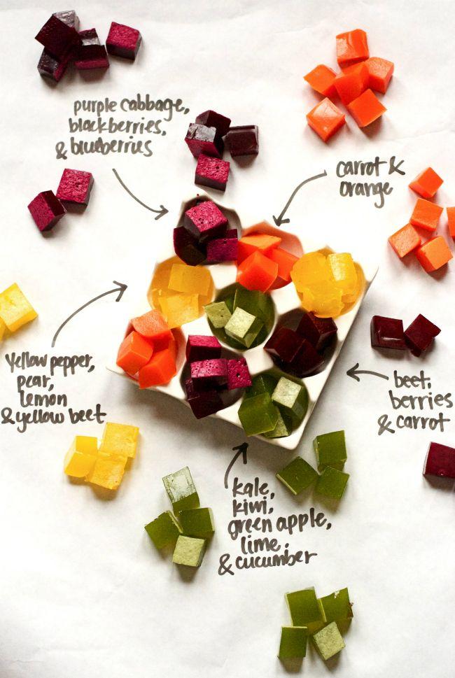 Zelfgemaakte gummies gemaakt van fruit en groenten - een gezonde snack kinderen…