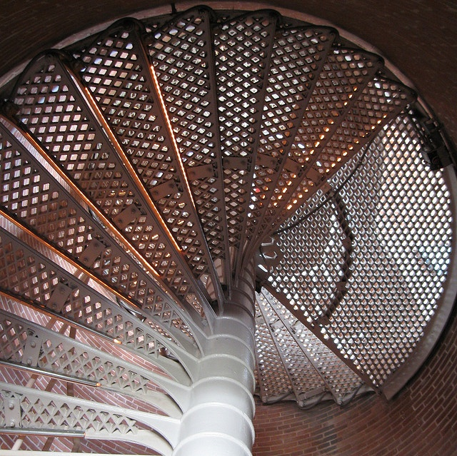 Stairs, Cape May Light, Cape May, New Jersey