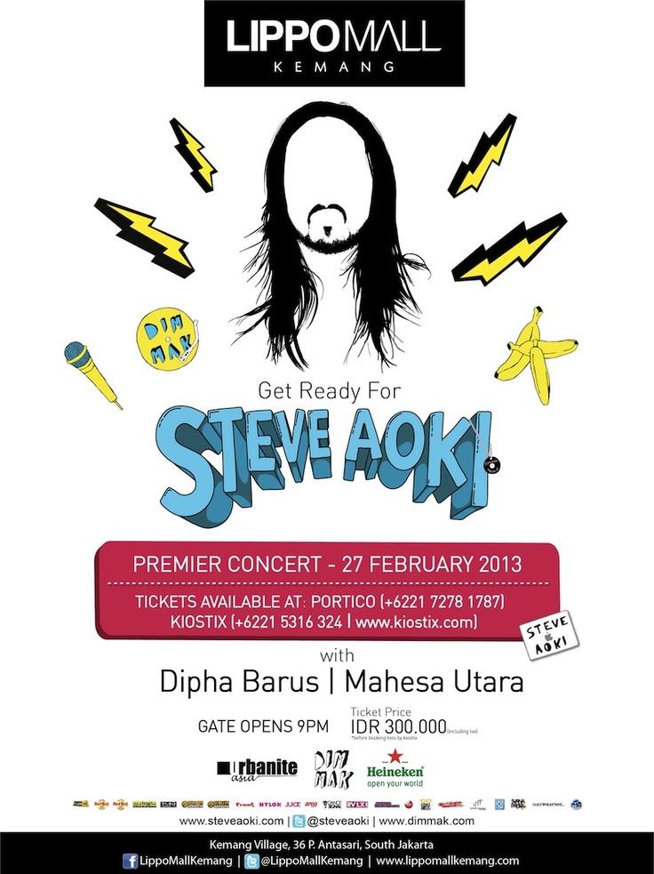 Steve Aoki Premier Concert