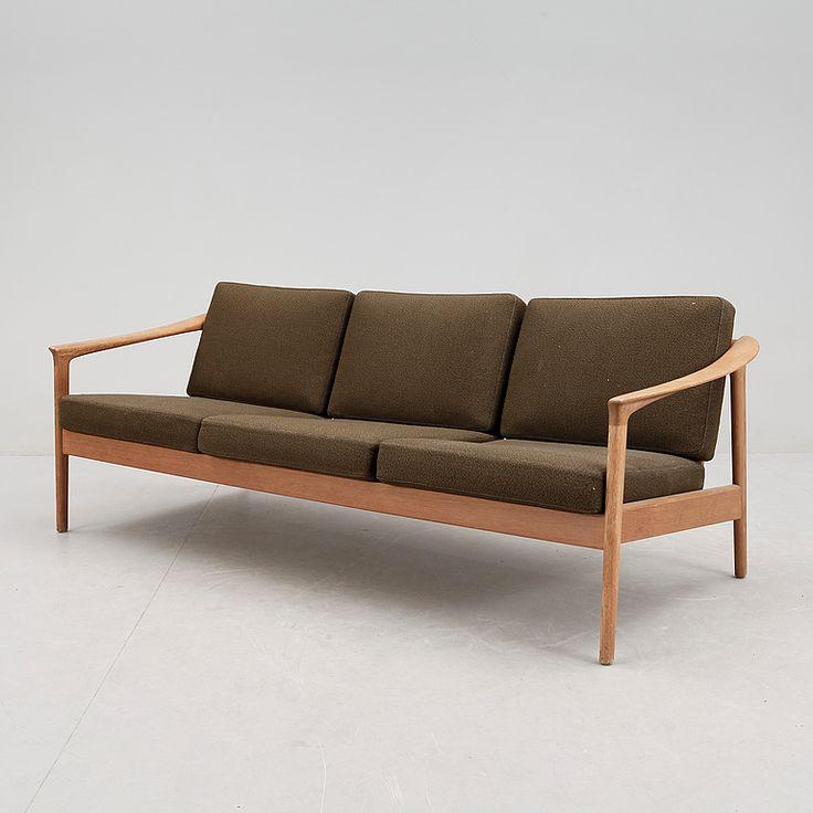 Folke Ohlsson; Sofa For Bodafors, 1960s.
