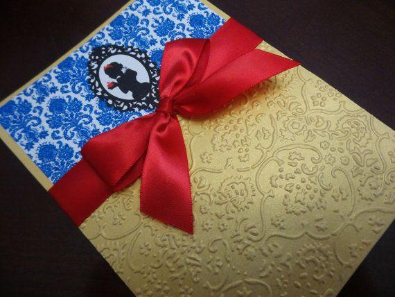 Invitación elegante blanco de la nieve Snow por BirthdayPartyBox
