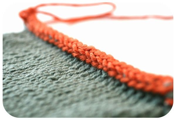 Tutorial for a great i-cord bind off. #knitting