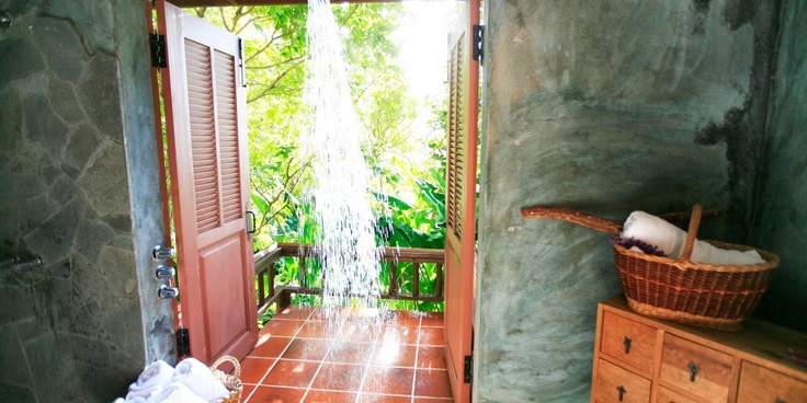 #JetsetterCuratorBeausejour House, Foliage Ensure, St Lucia, Jetsetter Curator, Outdoor Showers, Ensure Outdoor, Dense Foliage, Dennings Foliage, Totally Private