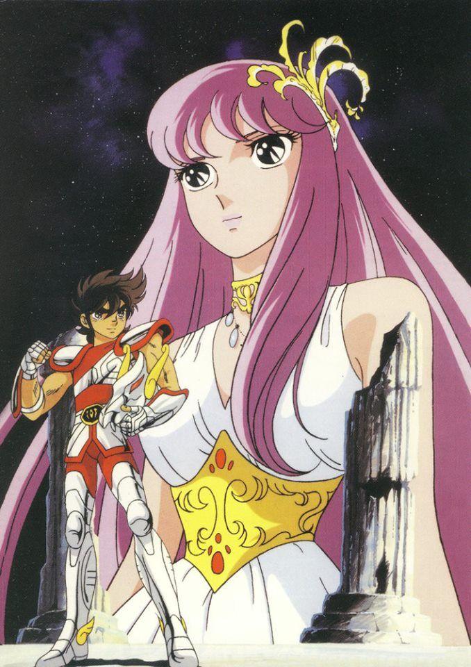 Seiya y Saori