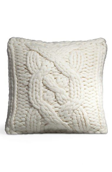 Throw Pillows Nursery : UGG? Australia Cable Knit Square Decorative Pillow available at #Nordstrom Gifts Pinterest ...