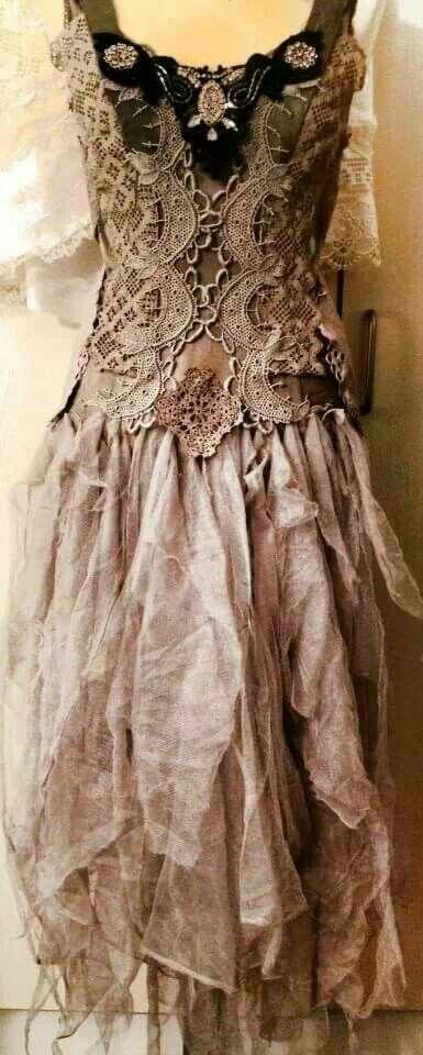 Rag dress