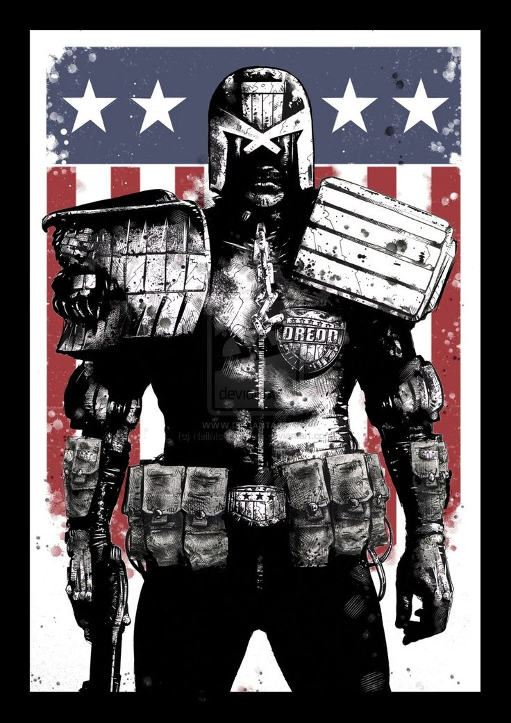 Judge Dredd by NeilMcClements.deviantart.com on @deviantART