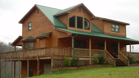 Log Home Design Plan And Kits For Lexington Products I