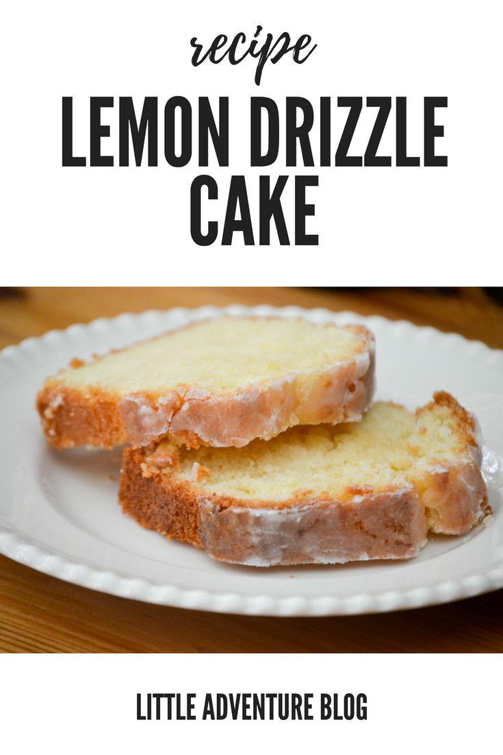 Slimming World Recipefor Lemon Drizzle Cake
