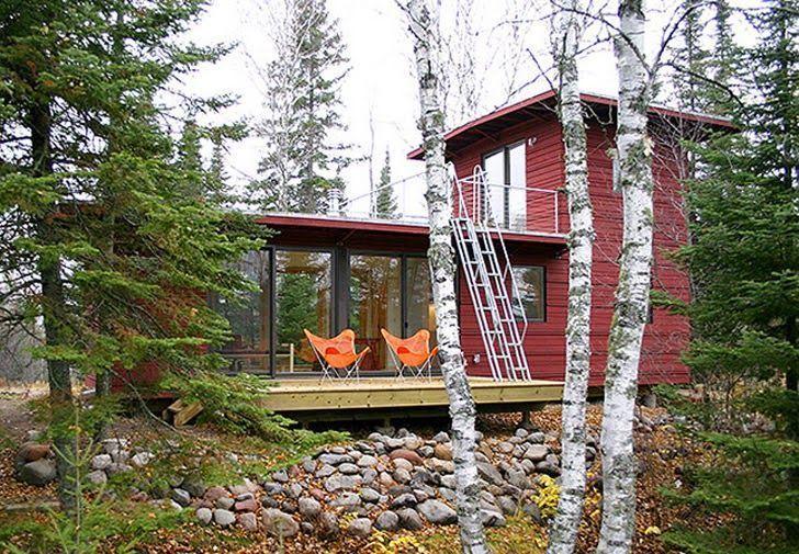 Casas Ecologicas: Casas ecologicas prefabricadas que conectan con la naturaleza