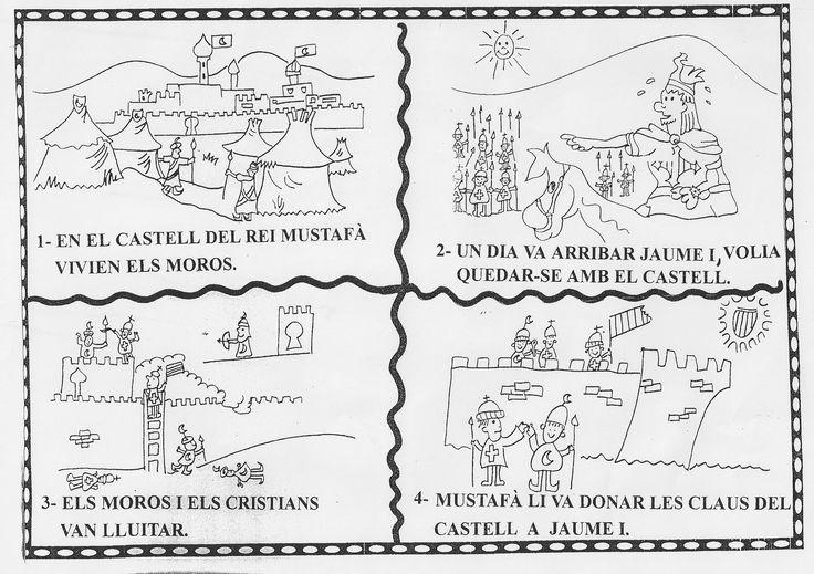 Algunas fichas y dibujos para celebrar el 9 d' octubre =)