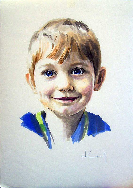 marker portrait