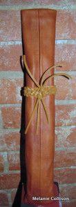 Rocky Mountain Custom Leather musical director baton case handmade