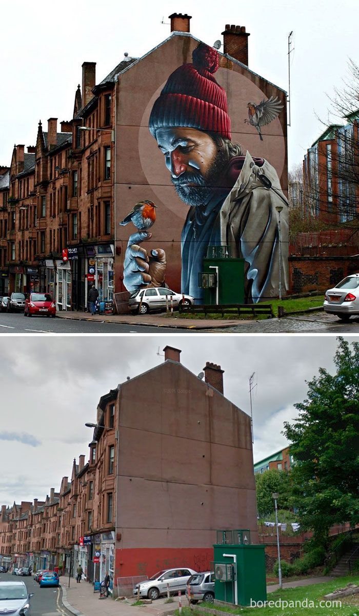 When People No Longer Seek Out Art, Creative People Take It To The Streets…And The Buildings