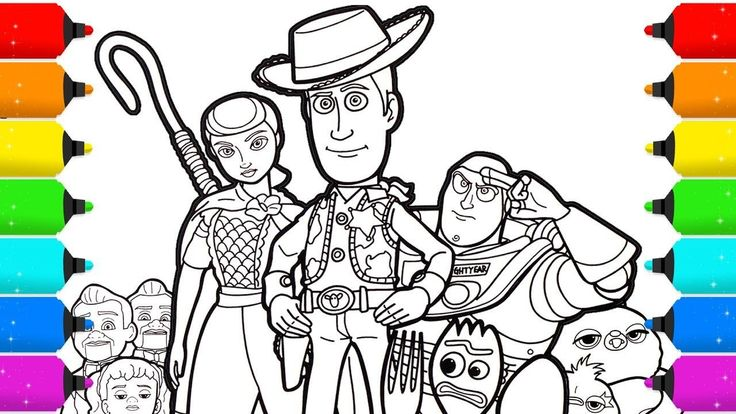 Awesome Coloring Page Toy Story that you must know, You?re