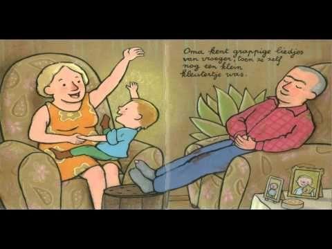 """Guido van Genegten - Bij oma en opa - een leuk verhaal in thema """"grootouders"""" #Kinderboekenweek"""