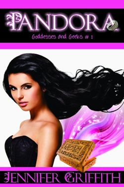 PANDORA  (Goddesses and Geeks #1) by Jennifer Griffith. Contemporary Romance.