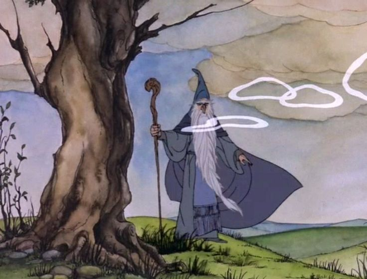 I am Gandalf, and Gandalf means ME! The Hobbit by Rankin Bass