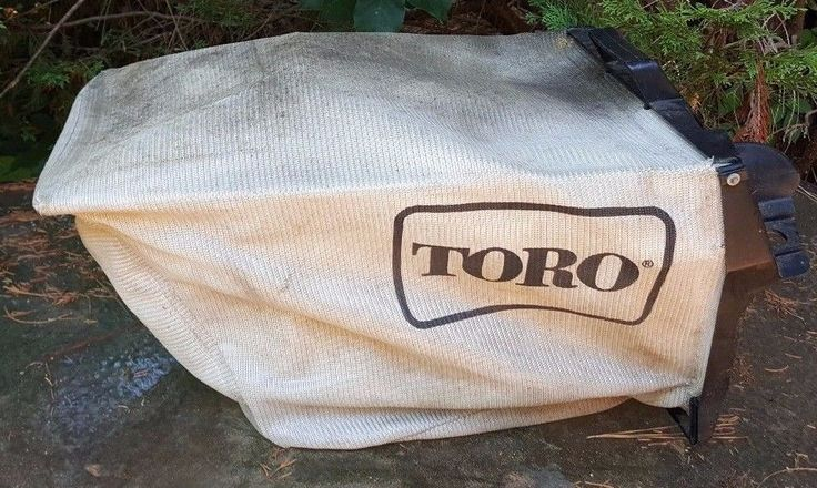 Toro POW-R-DRIVE Lawn Mower Grass Rear Bag PLEASE READ #TORO