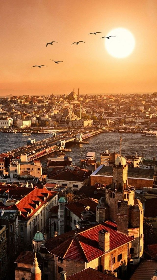 Istanbul city sunset, Turkey , from Iryna