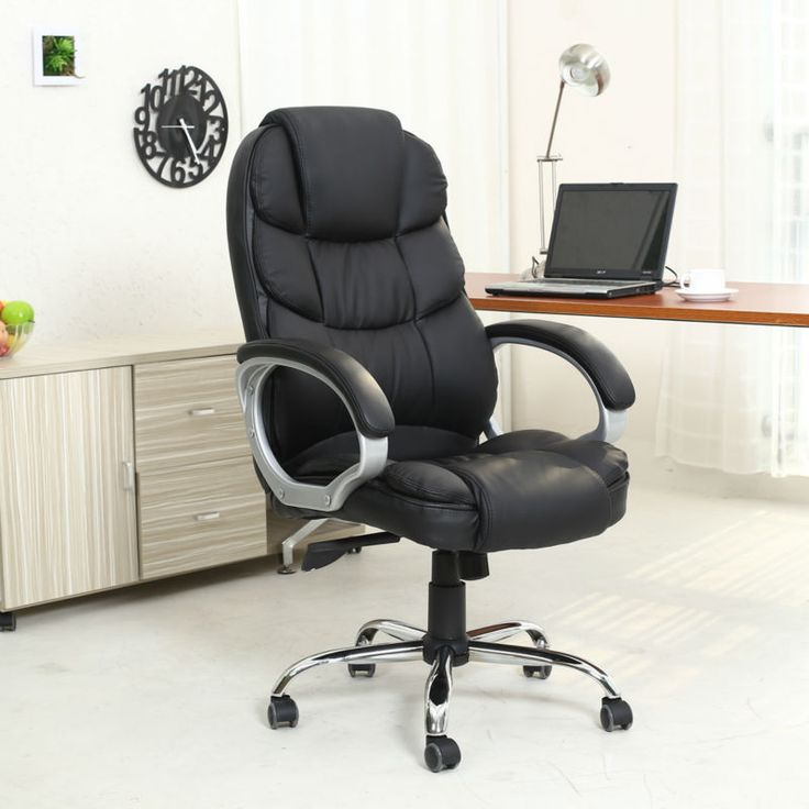 A good, comfortable computer chair promotes effectiveness in work, as people don't have to get up often to extend their legs and relieve the stresses in the back. They won't feel tired at the end of the day, as their bodies are relaxed and well supported in elegant chairs.