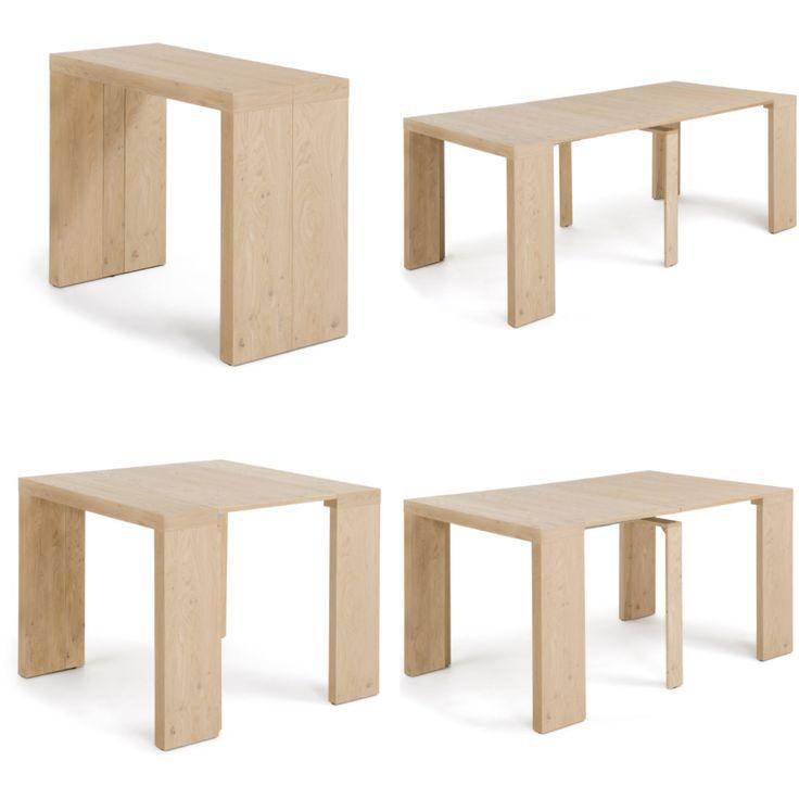 Dette bordet gjøres om fra konsoll til spisebord på 1-2-3! Modell SAGE.  Du finner det i nettbutikken😊 www.mirame.no  #spisestue #kjøkken #stue #justebart #innredning #bord #spisebord #konsoll #kjøkkenbord #litenplass #møbler #norskehjem #spisestue #mirame #pris  #interior #interiør #design #nordiskehjem #vakrehjem #nordiskdesign  #oslo #norge #norsk  #bilde #speilbilde #tre #metall #oakland #bestselger #sage