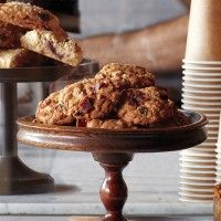 Cherry-Ginger Scones - Bon Appétit: Oatmeal Cookies, Bacon Oatmeal ...