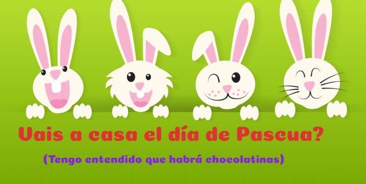 Día de Pascua una fecha para estar al lado de los tuyos.
