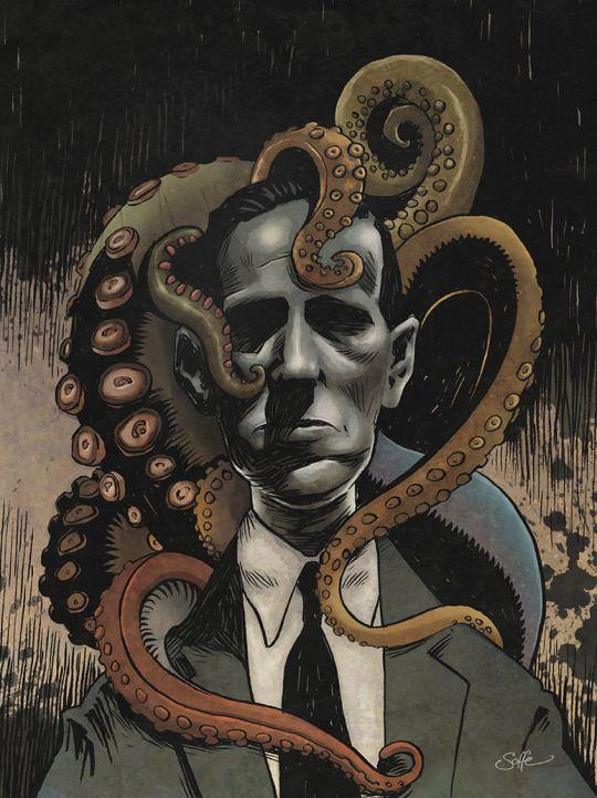 HP Lovecraft by Matt Soffe
