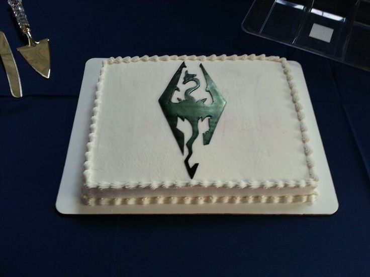 Skyrim grooms cake | Cakes we have done! | Pinterest ...