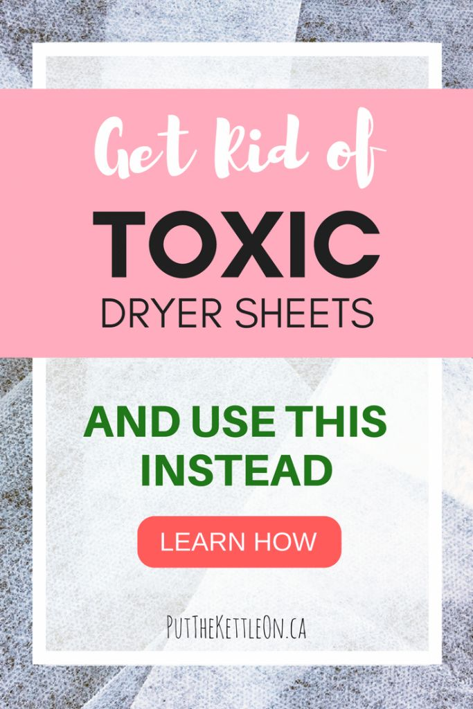What to know about the toxic effects of dryer sheets and why Wool Dryer Balls should be your only choice for laundry. Get the benefits of dryer balls here.