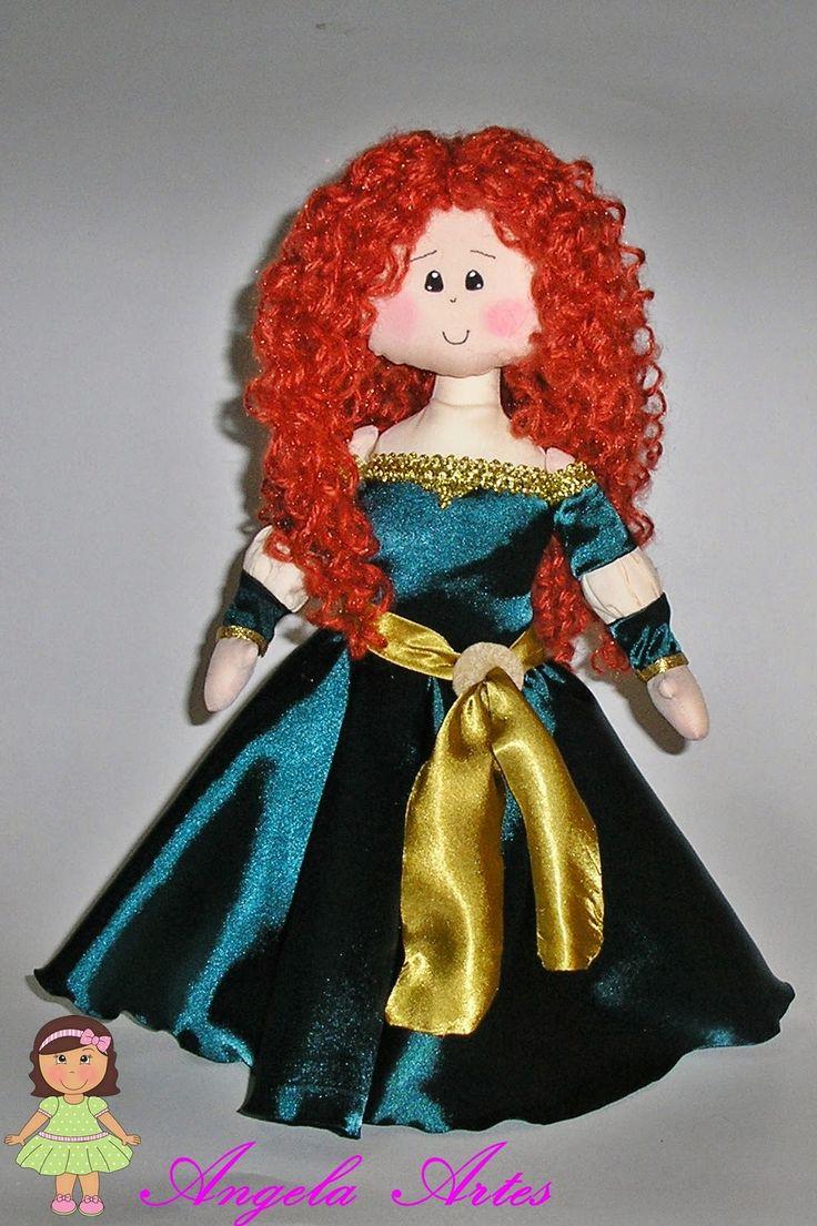 Angela Artes: decoração de festa princesas