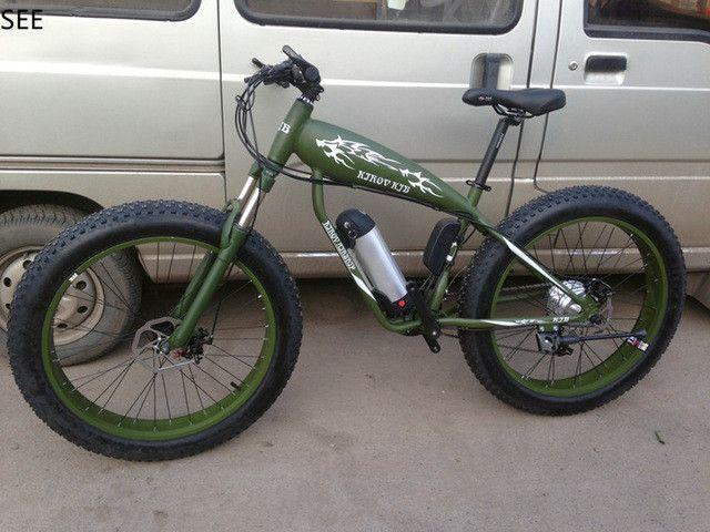 electric power-assisted bicycle 36V 15/25Ah Lithium Battery 350W fat bike Snow bike snowmobile big MTB cycle 26x4.0 disc Brake