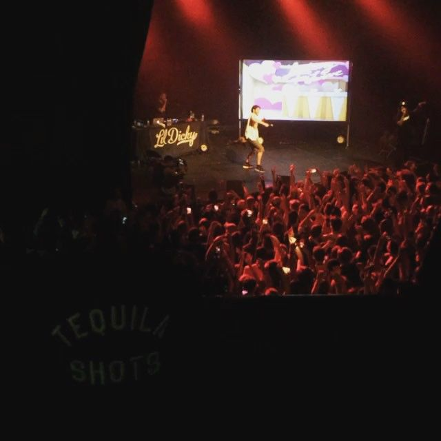 Lil Dicky & Iamsu! performed on Monday at Fonda Theatre